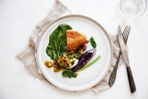 Det er jo bare rigtig mad... Foto: Line Thit Klein
